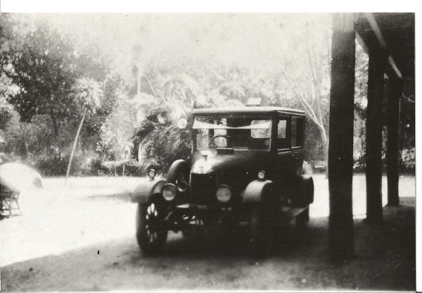 The car, 1931. Licence plate RA 5011