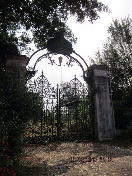 Government House Gates on Windsor Road