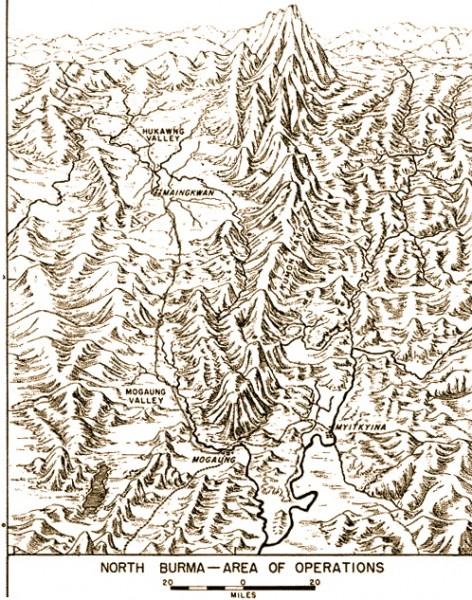 Hukawng Valley terrain
