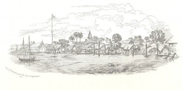 View of Rangoon, Colesworthy Grant
