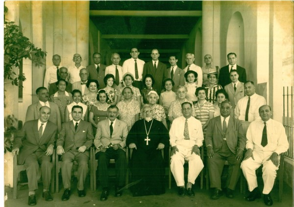 Congregation in the late 1950's or early 1960's