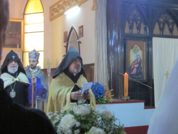 His Grace Bishop Haigazoun Najarian, Primate of The Diocese of the Armenian Church of Australia and New Zealand