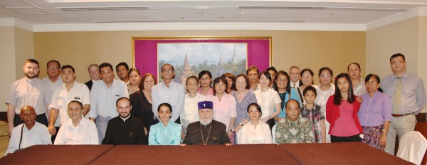 Some of the descendants of the Armenians of Rangoon