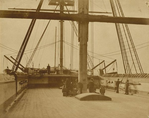 "Quarterdeck of HMS ""Impregnable,"" 1852-1854"